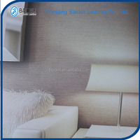whosale embossed pattern artificial leather for wall adornment