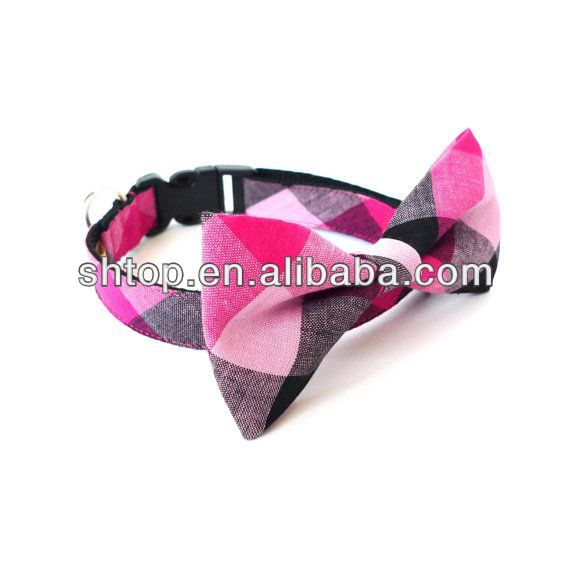dog bow tie collar & pet collar manufacturer