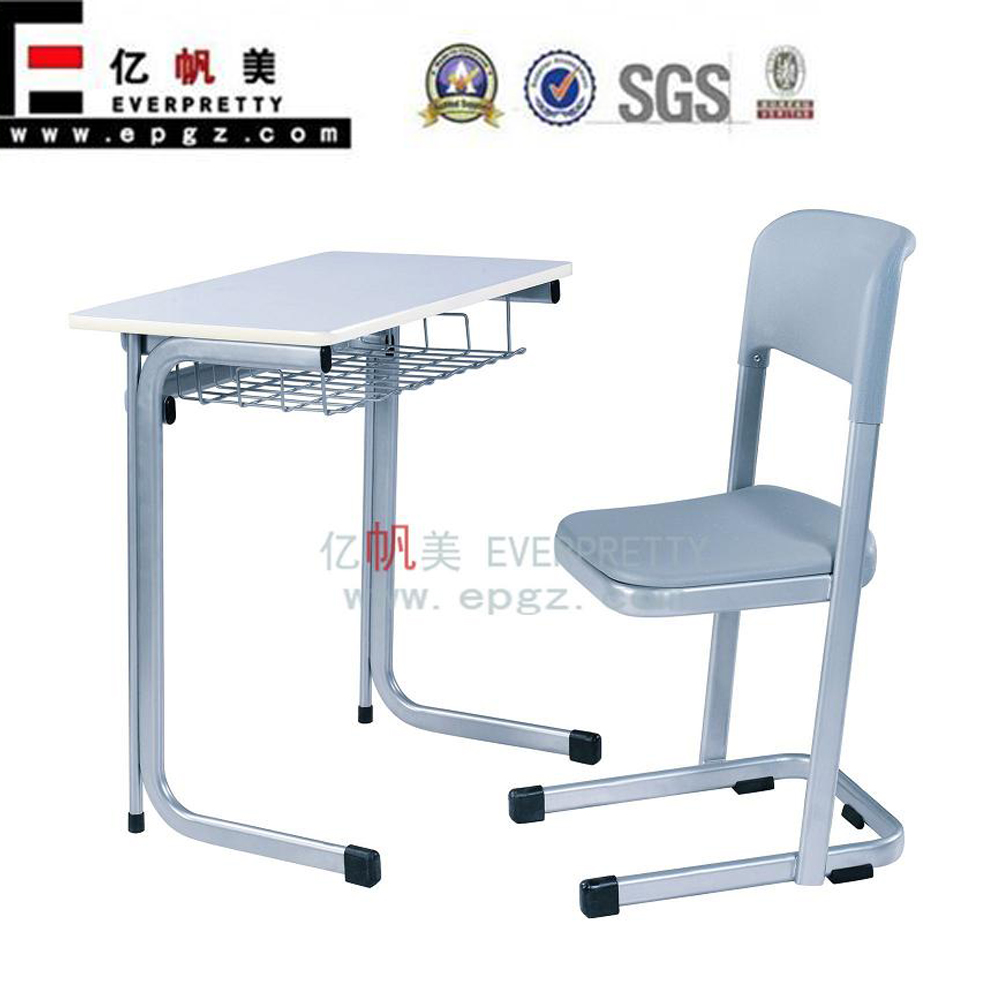 Cheap price metal leg used school desks for sale