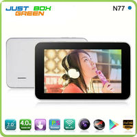 "7"" MID Android4.0 AllWinner A13 512MB 8GB External USB 3G WIFI Camera Multi touch Capacitive Sanei N77 tablet pc"