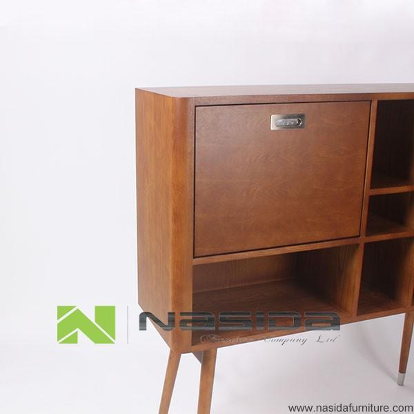 Nd526 modernen wohnzimmer holz sideboard holzschrank for Wohnzimmer sideboard modern