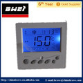 blue light room thermostat temperature controller with remote control for fan coil