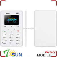 high quality cheap price m5 smallest mobile phone