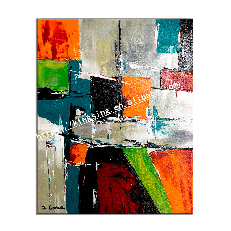 modern abstract hand painted oil painting large wall art home decor poster oil painting custom cuadros for livingroom