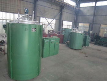 Controllable pit nitriding furnace