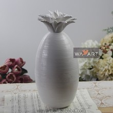 White Ceramic Pineapple for Home Ceramic Pineapple Decorations