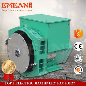 China supplier brushless single/three phase ,80kw/100kva,linear alternator with CE ISO