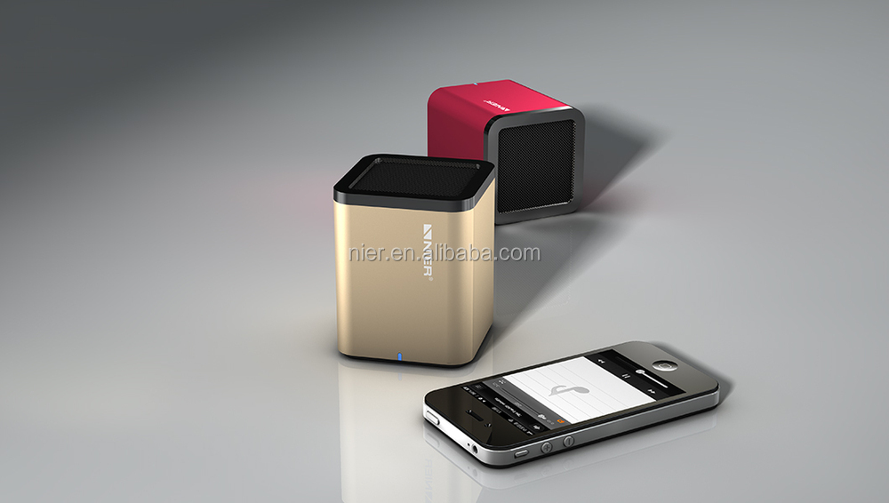 New model! High fidelity compact mini bluetooth speaker box manufacturer wireless