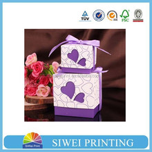 Factory direct sale wedding favor candy box