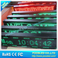 led message sign board \ single sided led moving message display sign \ running message led board