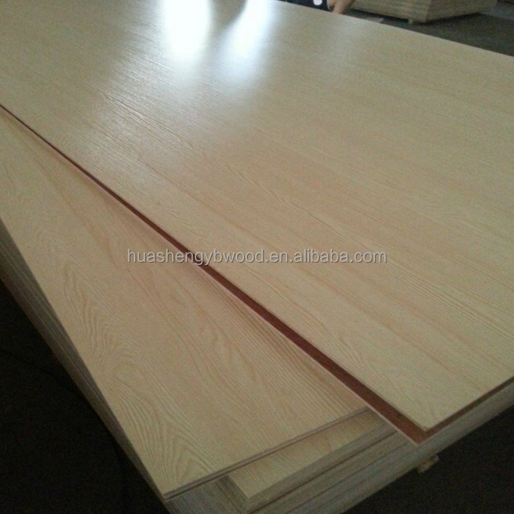 18mm Melamine faced plywood board for furniture