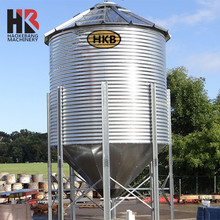 Widely Used Stainless Steel Silo Machine/Poultry Chicken Feed Silo Cost for Sale