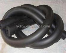 high density insulation black rubber foam sheet