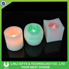 Home Decoration Wax LED Candle Light, Multicolor Changing LED Flashing Candle Light, Promotion Mini Light Candle Light For Gifts