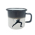 best selling products 2017 in usa 350ml red customizable handle iron cast enamel hot color changingcup coffee cup for party