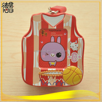2016 new design lovely cute vest shaped metal tin direct saving money box with lock