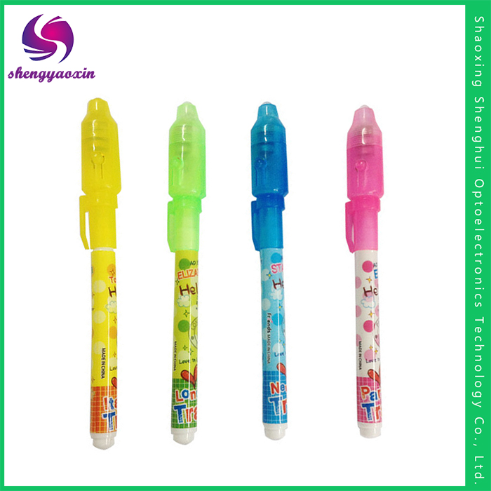 Good Quality Sell Well magic uv light invisible ink pen