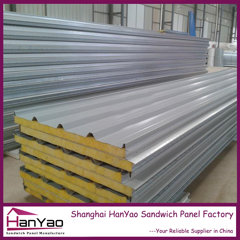 Fireproof Metal Panels : Shanghai hanyao high quality fireproof color steel