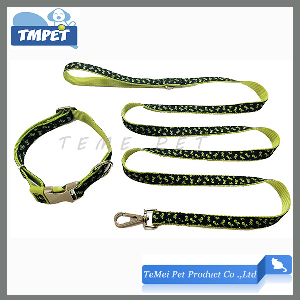 Nylon Buckle Reflective Dog Collar Spinning Snap Hook