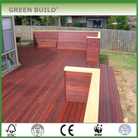 cheap prices solid wood merbau decking factory