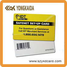professorial thermal barcode printing pvc card