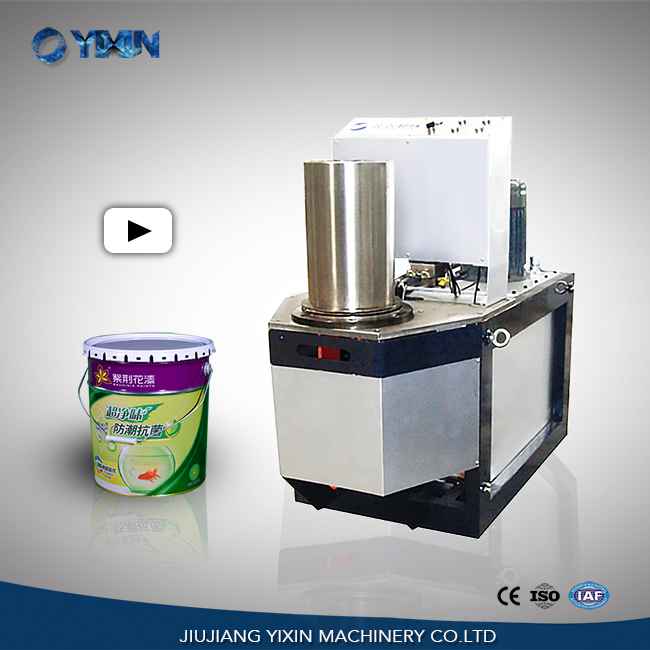 Conical paint pail making machine/pail production line/pail machine