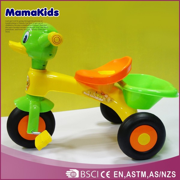 Wholesale High Quality Kids Baby Trike Cheap Plastic Child Tricycle Seats