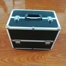 wholesale professional portable aluminum makeup case