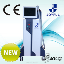 Frozen feeling professional portable 808nm diode laser hair removal machine with saphire handle