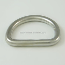 Stainless steel welded D rings