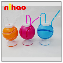 2015 years hot-sell plastic straw cup