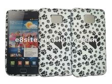 Water Printing TPU Case For SamSung Galaxy S2 i9100