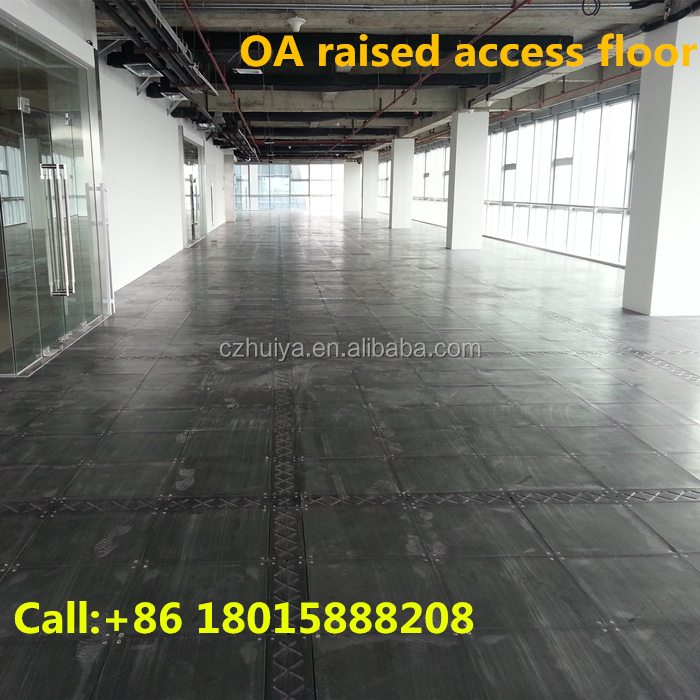 Engineered flooring for raised access floor