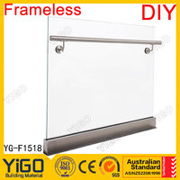 stainless steel glass U channel for wholesales