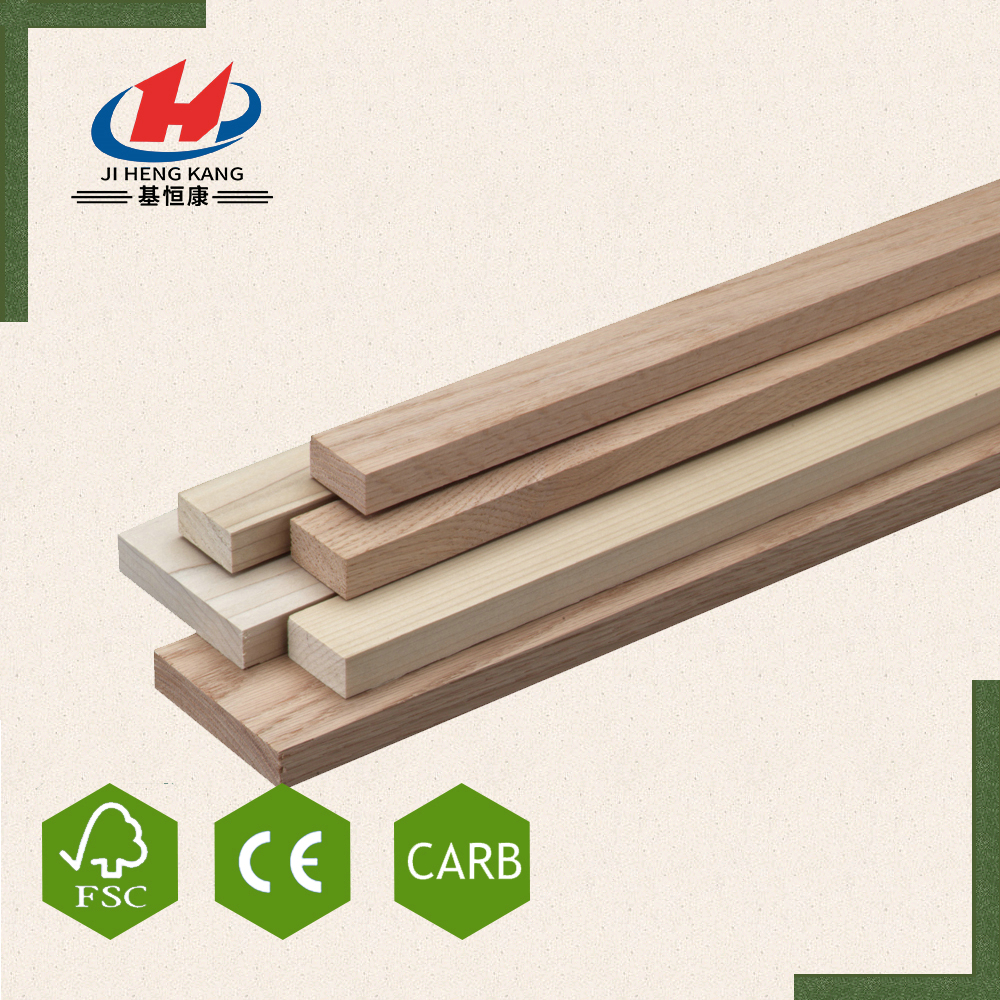 JHK- CE Solid Wood Natural Red Oak Panels Finger Joint Board Vendor