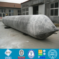 High pressure marine rubber balloon for boat landingwith ISO 14409/lifting airbags