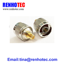 RF Coax Coaxial Adapter n male to sma female connector