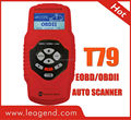 EOBD/OBDII code reader (yellow / multi-language) T79-auto scanner
