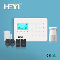 Wireless alarm systems at home