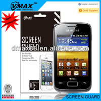 Best material lcd screen protector cover for Samsung galaxy young s3610 oem/odm (Anti-Glare)