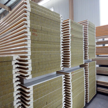 hot sale non-inflammable rockwool pu sandwich panel from HXY factory