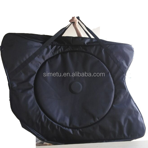 Nylon bike bag soft road bike bag for transportation