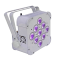 Wholesale DMX 9 lens 15W RGBWUV 5in1 wireless par can,battery powered led stage lighting