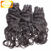 Factory wholesale pice 7A 8A grade natural color virgin indian natural wave hair
