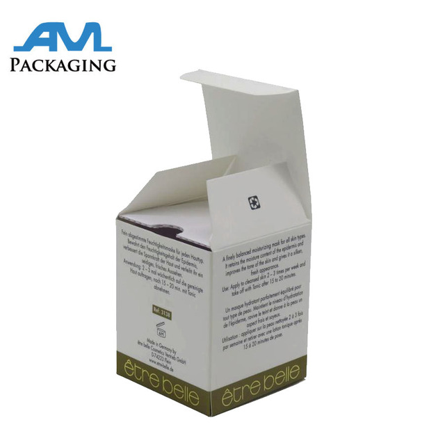 Folding Carton Box Exceptional Quality Fragrance Product Packaging Boxes