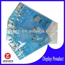thick clear plastic bags with self adhesive for promation