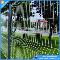 Made in China wire mesh security fence / galvanized pvc coated chain link fence