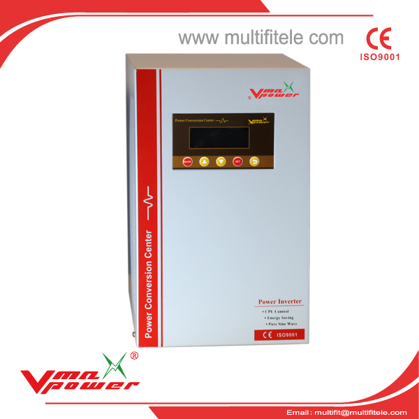 Intelligent hot sale VMI-D DC to AC 8kw pure sine wave inverter with charger 8000KW