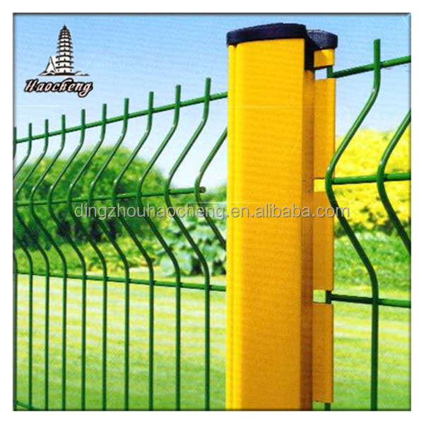 Elegant garden fence highway protection Welded steel fence