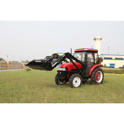 50HP jinma tractor prices with 4 in 1 Front end loader And A/C Cabin